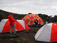 Mountain-Hardwear-Tents-on-Kilimanjaro