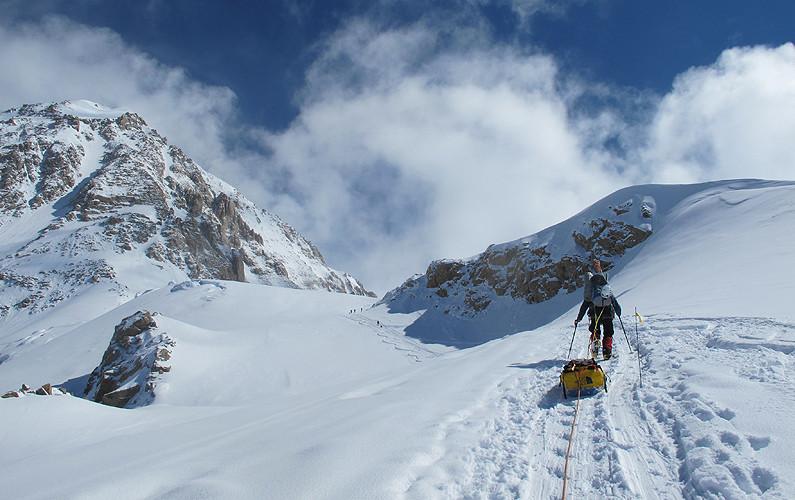Denali climbing